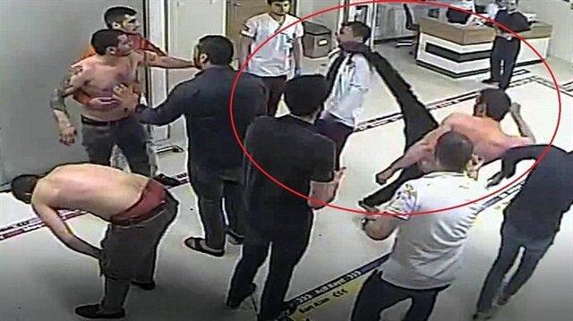 Doktora tekme atan saldırgan serbest kaldı