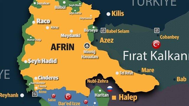 Afrin'de fabrika atağı