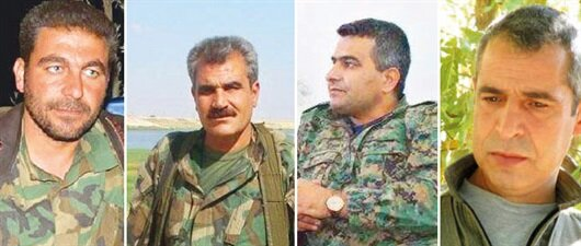 İşte PKK'nın Münbiç kadrosu