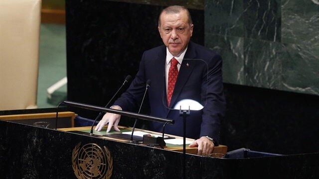 Cumhurbaşkanı Erdoğan'dan ticari savaş vurgusu