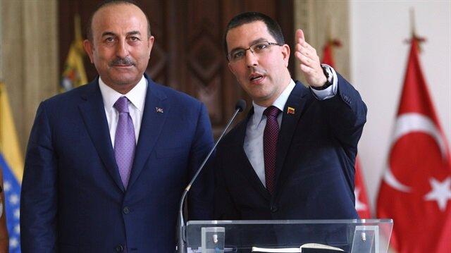 'Erdoğan Maduro'ya selam gönderdi'