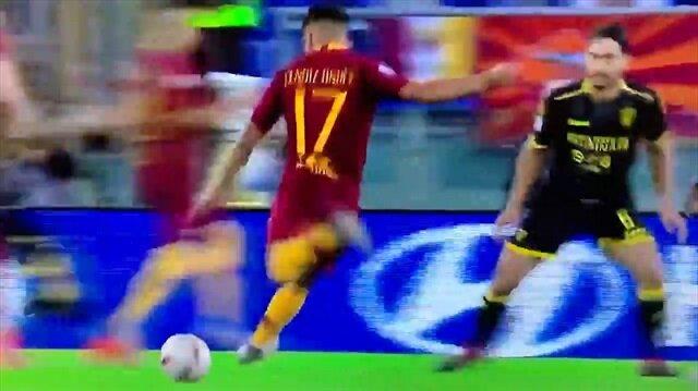 Cengiz Ünder'den Messi'yi kıskandıracak gol