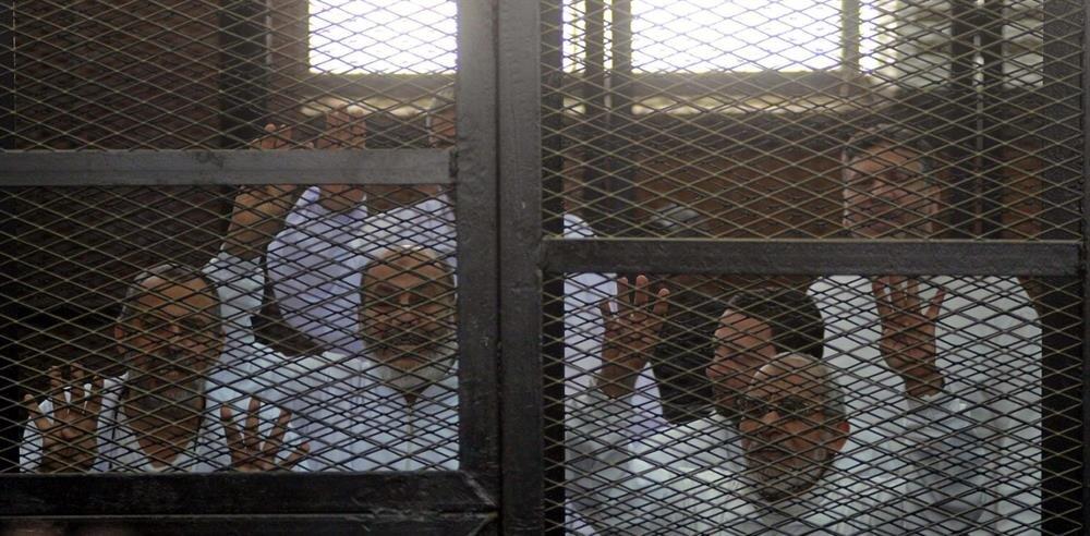 """İhvan üyeleri """"devlete karşı hareketlerini yönlendirecek bir operasyon odası hazırlamak"""" iddiasıyla yargılanıyor."""