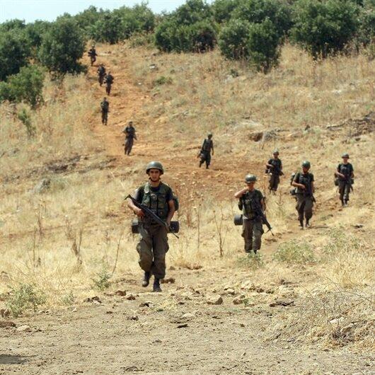 Tunceli'de saldırı hazırlığındaki 2 terörist öldürüldü