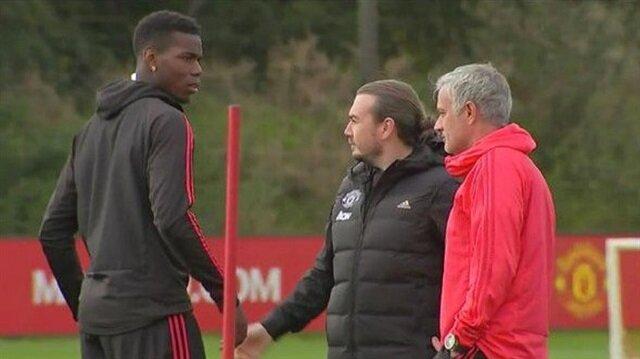 Mourinho'dan Pogba'ya 'geç geldin' fırçası