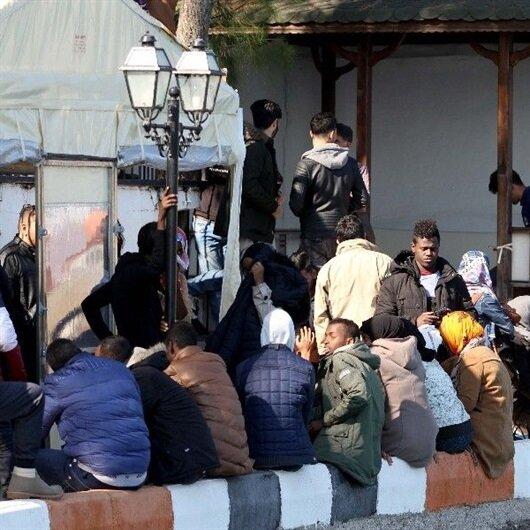 Malatya'da 58 kaçak göçmen yakalandı