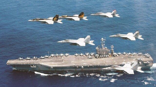 ABD, Akdeniz ve Ege'deki askeri varlığıyla Rusya'ya karşı çok büyük bir tatbikata hazırlanıyor.