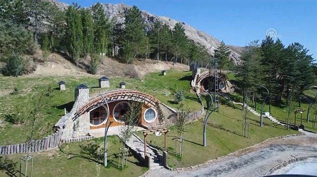 Hobbit village in Turkey's Sivas