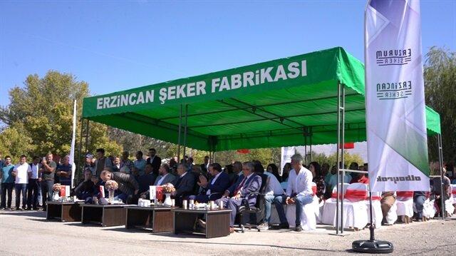 Erzincan Şeker Fabrikası 'Pancar Alım Töreni'