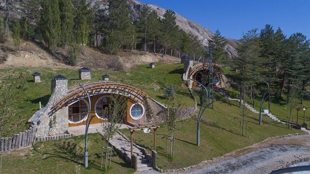 Hobbit Houses In Turkey's Sivas
