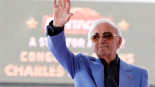 French singer Aznavour dies at the age of 94