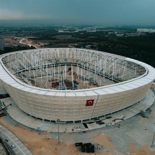 Yeni Adana Stadı'nda sona doğru