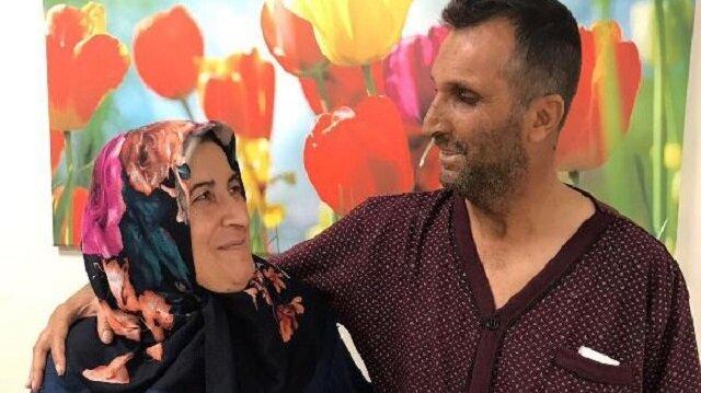Evlilik yıl dönümünde eşine böbreğini hediye etti