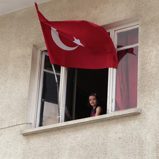 Suriyeli baba ve kızının Türkiye sevgisi