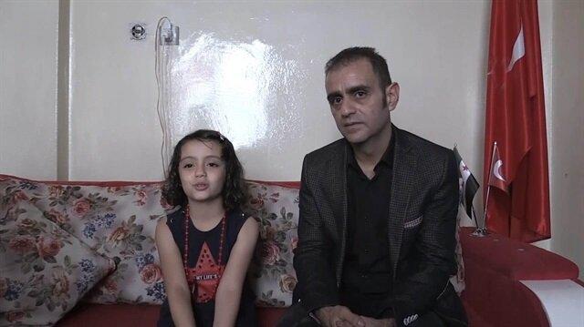 Suriyeli Sabra ve babası Türkiye sevgisiyle gönüllerde taht kurdu