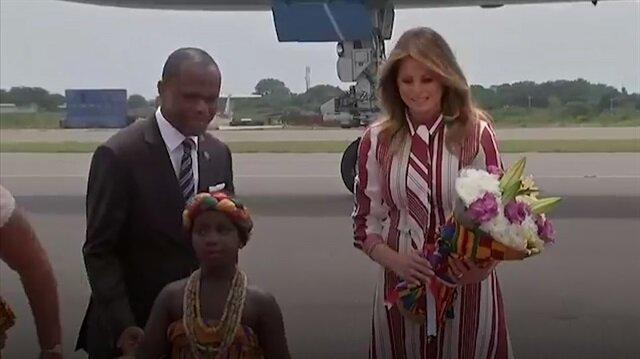 Melania Trump Afrika'da