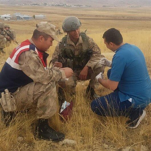 Operasyona giden askerler buldu