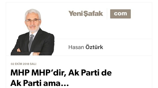 MHP MHP'dir, Ak Parti de Ak Parti ama…