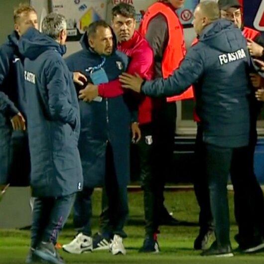 Hagi Türk antrenörle kavga etti