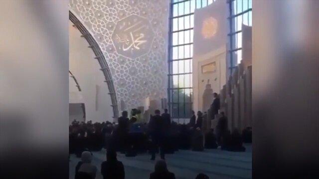 Erdoğan'dan Köln Merkez Camii'nde Kur'an tilaveti