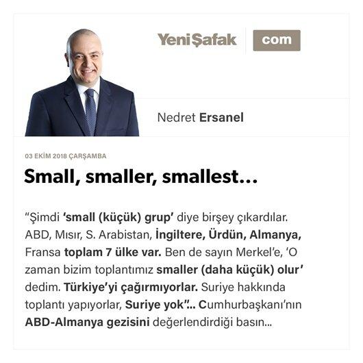 Small, smaller, smallest...