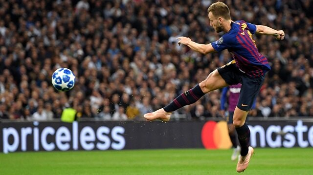 Rakitic'ten Tottenham maçında Tsubasa golü