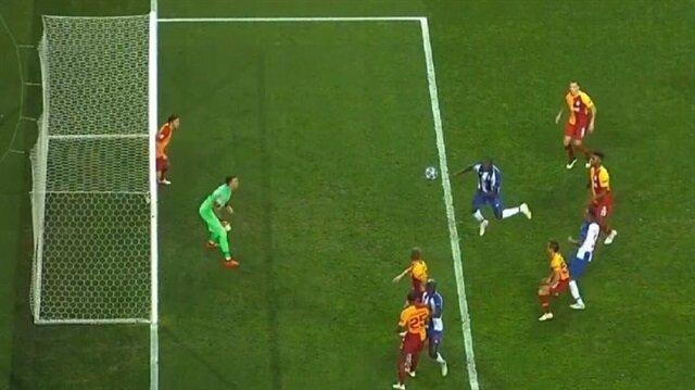 Galatasaray taraftarını isyan ettiren gol