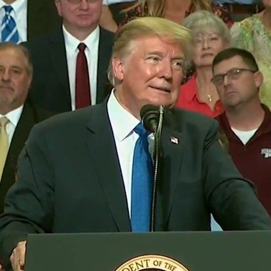 Trump: Kral Selman'ı korumasak 2 hafta o koltukta oturamaz