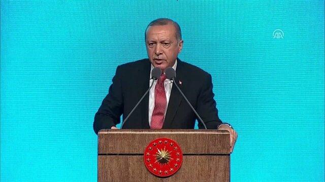Erdoğan: Cami, Müslümanların cem olduğu yerdir