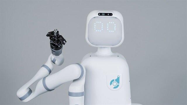 "Hastane robotu ""Moxi"" ile tanışın"