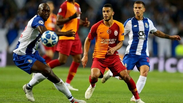Younes Belhanda maç biter bitmez Porto forması giydi
