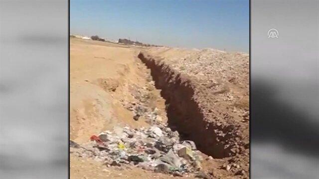 YPG/PKK Münbiç'i çukurlarla çevreledi