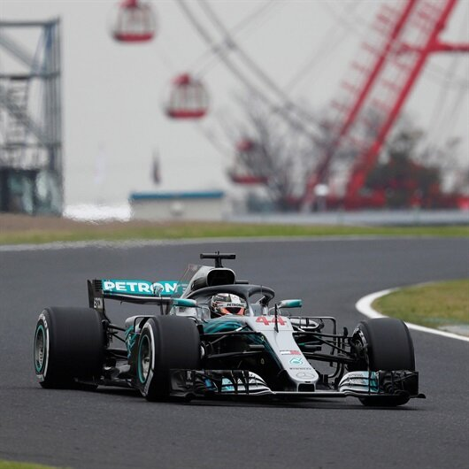 Hamilton fastest as Mercedes dominate Japanese GP practice