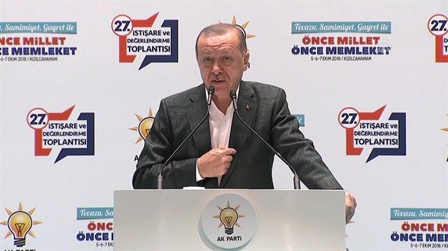 Erdoğan: Bizim milletimize can borcumuz var