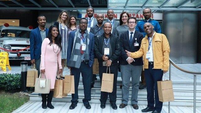 Etiyopyalı doktorlar Türk sağlık sistemine hayran kaldı