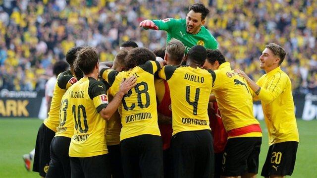 Dortmund'dan muhteşem geri dönüş
