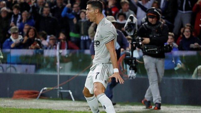 Ronaldo Juventus'ta 4. golünü attı