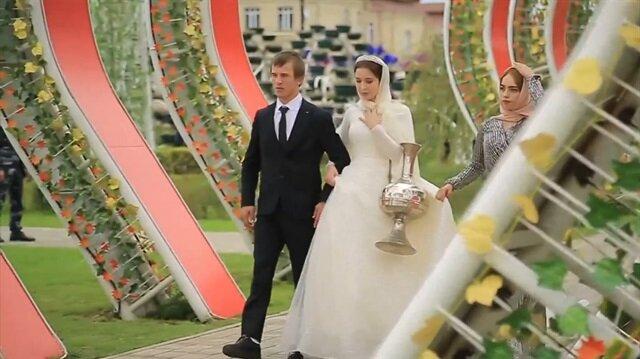 Çeçenistan'da 200'üncü yıla özel 200 toplu düğün