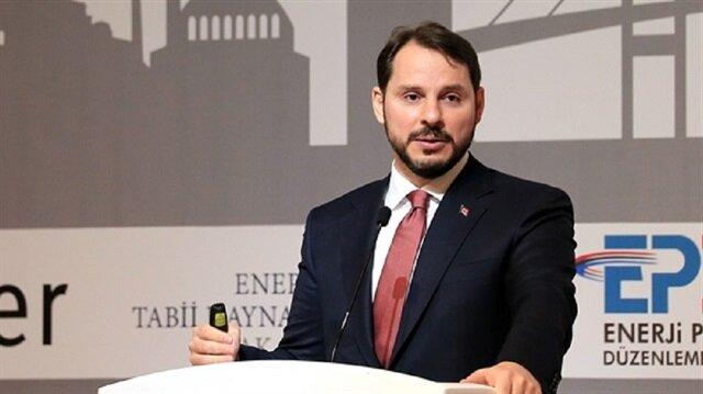 Turkish Finance Minister Berat Albayrak