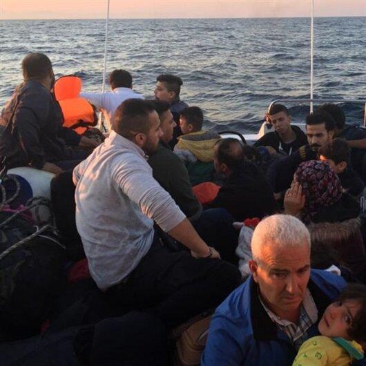 Didim'de 32 düzensiz göçmen durduruldu
