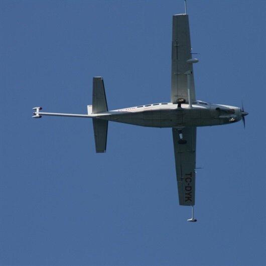 Marmaris'te alçak uçuş yapan gizemli uçak korkuttu