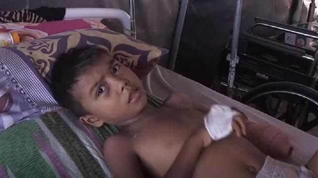 Child victims of Indonesia's deadly quake, tsunami