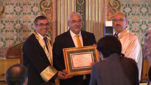 Ali Saydam'a ödül: İletişime Adanmış 40 Yıl