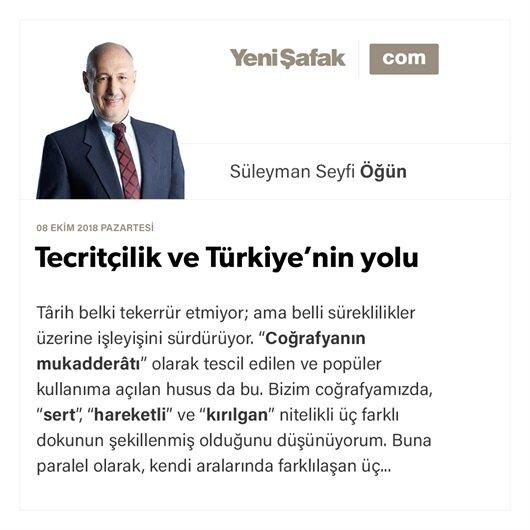 Tecritçilik ve Türkiye'nin yolu