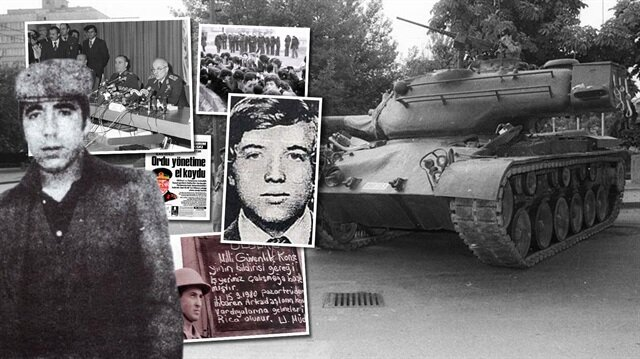 TSK'nın demokrasiye üçüncü müdahalesi olan 12 Eylül askeri darbesinde yaşananlar hafızalarda canlılığını koruyor.
