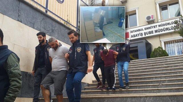 İstanbul'da 1 milyon liralık hırsızlık