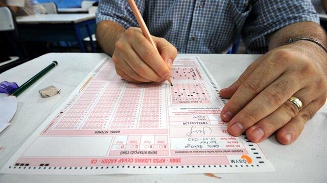 KPSS'nin ortaöğretim sınavına giren adaylar, soru ve cevaplara ÖSYM'nin sitesi üzerinden erişebilecekler.