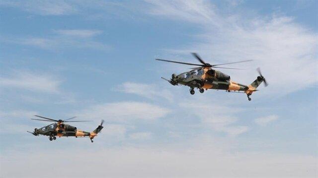 İlk defa aynı günde 3 ATAK helikopteri teslim edildi