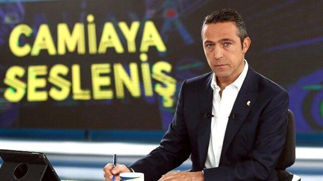 Fenerbahçe Başkanı Ali Koç.