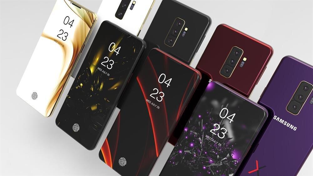Galaxy S10'da üç farklı varyasyonla birlikte farklı ekran boyutlarının ve farklı konfigürasyonların sunulması bekleniyor.